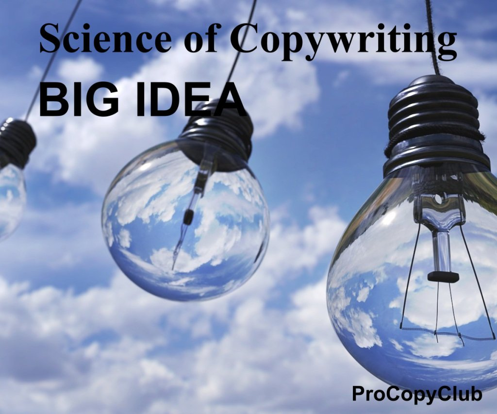 What's The Concept Of A Big Idea In Copywriting - image of light bulbs