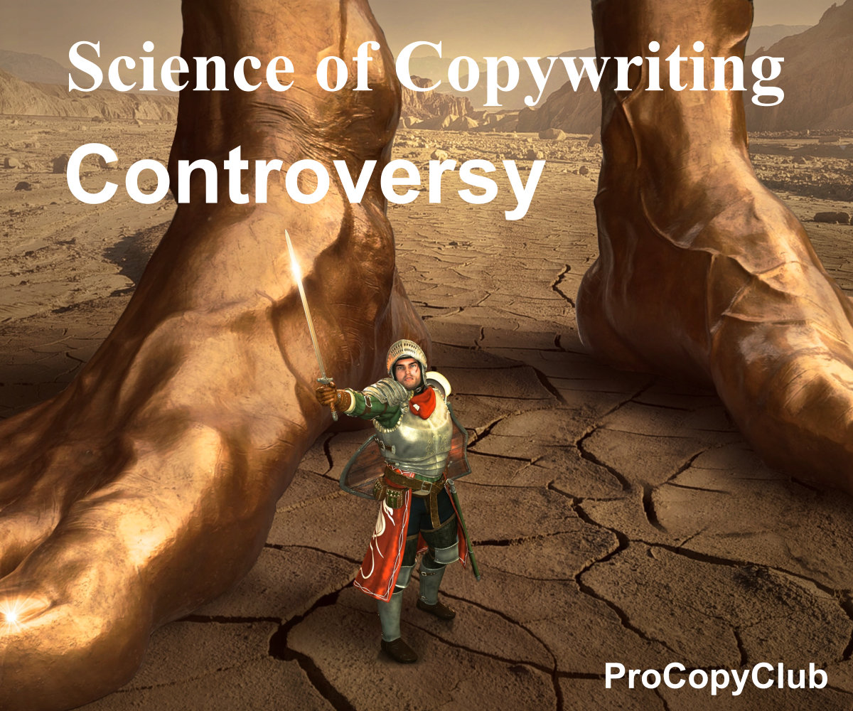Copywriters Need Attention Or Else It's All A Waste Of Time image of giant