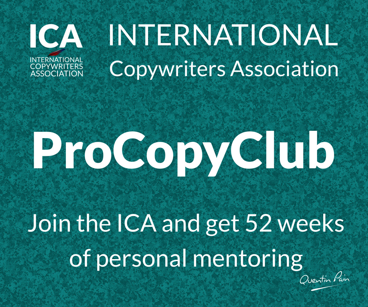 ICA ProCopyClub Copywriting Program