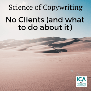 What's the top question all new copywriters ask: how do I get clients?