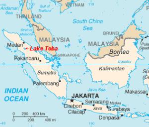 Lake Toba Location