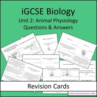 Screenshots of the Edexcel iGCSE B2 resource