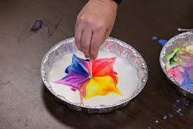 download 3 Cool food color in milk science experiment you can do at home.