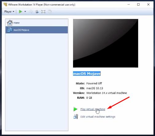 Install macOS  Mojave on VMware On Windows   sciencetreat.com