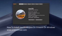 install macOS mojave on vmware on windows. sciencetreat.com