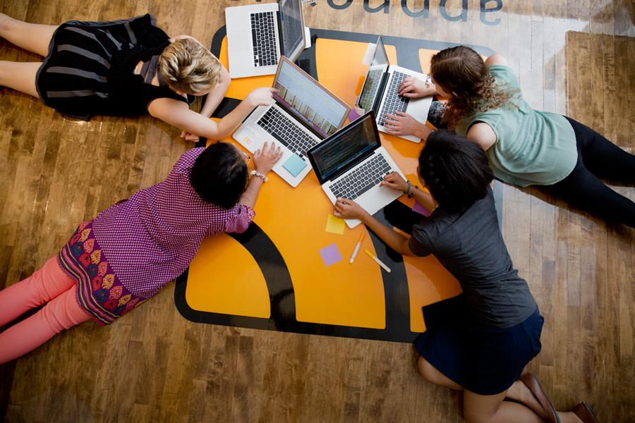 Inspiring girls to code