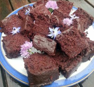 Beetroot Chocolate cake; Image Credit: Dee Sewell of Greenside Up