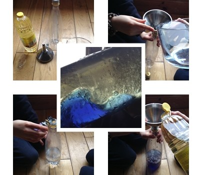 Fun Friday – how to make an ocean in a bottle