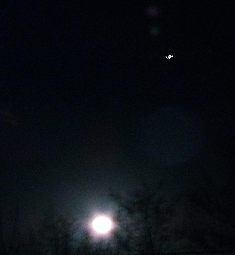 moon viewing jupiter tonight - photo #48