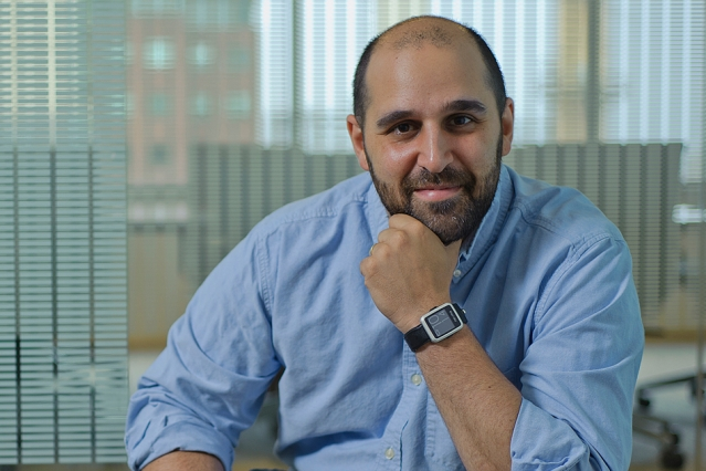Neumitra co-founder and CEO Robert Goldberg, a former MIT researcher