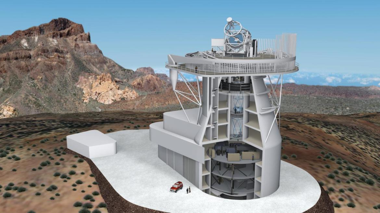 The European Solar Telescope, chosen as a strategic scientific installation for Europe
