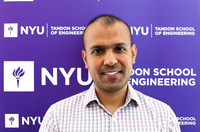 Siddharth Garg, assistant professor of electrical and computer engineering