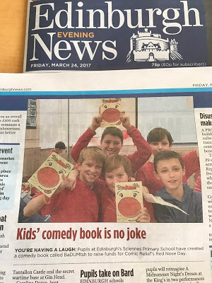 P7 Comedy Book in the News