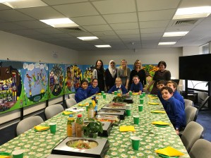 Celebratory picnic lunch reception at Children in Scotland Offices, Rosebery House Tuesday 19th September 2017 hosted by Juliet Harris Together Scotland Director and Liz Millership Communications.