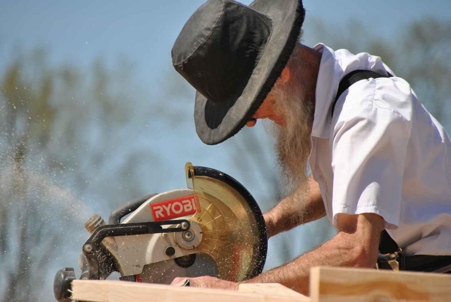 wood man people industry