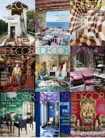 Elle-Decor-USA-2018-Full-Year-Issues-Collection Elle Decor USA - 2018 Full Year Issues Collection