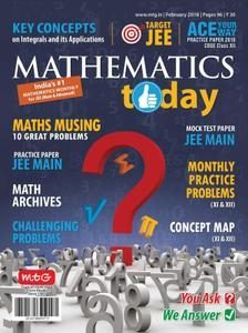 Mathematics Today – February 2018