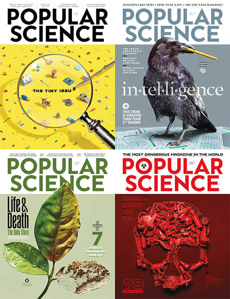 Popular Science USA - 2018 Full Year Collection