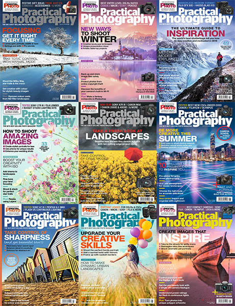 Practical-Photography-2018-Full-Year-Issues-Collection Practical Photography - 2018 Full Year Issues Collection