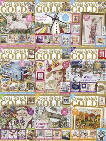 Cross-Stitch-Gold-Full-Year-2018-Collection Cross Stitch Gold - Full Year 2018 Collection