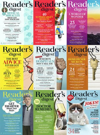 download Reader's Digest USA - Full Year 2018 Collection