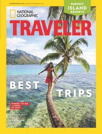 National-Geographic-Traveler-USA-DecemberJanuary-2019 National Geographic Traveler USA - December/January 2019