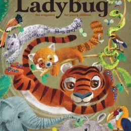 scientificmagazines Ladybug-March-2019 Ladybug - March 2019 For Kids & Teens  Ladybug