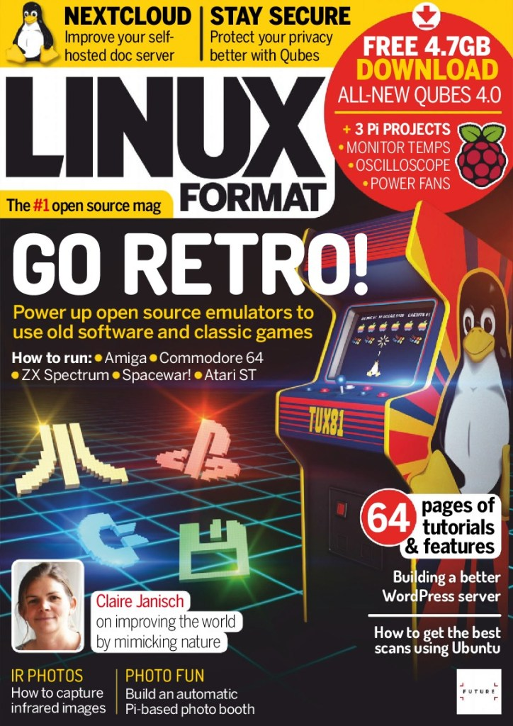 Linux-Format-UK-April-2019 Linux Format UK - April 2019