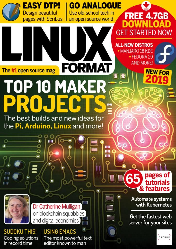 Linux-Format-UK-January-2019 Linux Format UK - January 2019