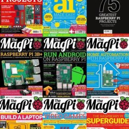 scientificmagazines The-MagPi-Magazine-2018-Full-Year-Issues-Collection The MagPi - July 2019 Computer Consumer Electronics  The MagPi