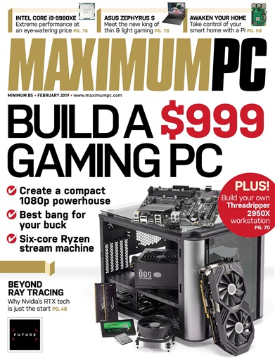 Maximum-PC-February-2019 Maximum PC - February 2019