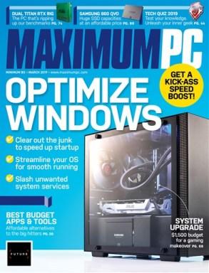 Maximum-PC-March-2019 Maximum PC - March 2019