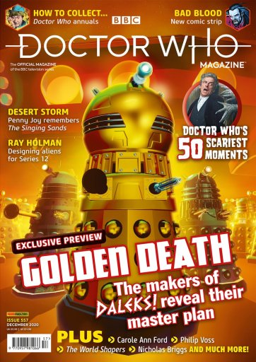 Doctor-Who-Magazine-Issue-557-December-2020-724x1024 Doctor Who Magazine - Issue 557 - December 2020