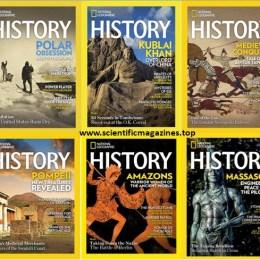 scientificmagazines National-Geographic-History-–-Full-Year-2020-Collection National Geographic History – Full Year 2020 Collection Full Year Collection Magazines History  National Geographic History
