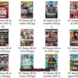 scientificmagazines PC-Gamer-–-2020-Full-Year-Collection PC Gamer – 2020 Full Year Collection Full Year Collection Magazines Games  PC Gamer