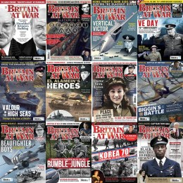 scientificmagazines Britain-at-War-2020-Full-Year Britain at War - 2020 Full Year Collection Full Year Collection Magazines History  Britain at War