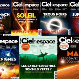 scientificmagazines Ciel-et-Espace-–-2020-Full-Year-Collection Ciel et Espace – Année Complète 2020 Astronomy Frensh magazines Full Year Collection Magazines Science related  Ciel et Espace