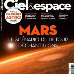 scientificmagazines Ciel-et-Espace-N°574-–-Decembre-2020-Janvier-2021 Ciel et Espace N°574 – Décembre 2020-Janvier 2021 Astronomy Frensh magazines Science related  Ciel et Espace