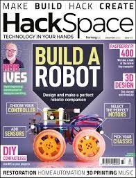 scientificmagazines HackSpace-December-2020 HackSpace - December 2020 Consumer Electronics  HackSpace