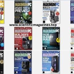 scientificmagazines Maximum-PC-–-2020-Full-Year-Collection Maximum PC – 2020 Full Year Collection Computer Full Year Collection Magazines  Maximum PC