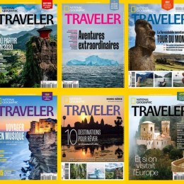 scientificmagazines National-Geographic-Traveler-annee-complete-2020 National Geographic Traveler France - année complète 2020 Frensh magazines Full Year Collection Magazines Traveler  National Geographic Traveler France