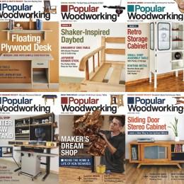 scientificmagazines Popular-Woodworking-USA-2020-Full-Year Popular Woodworking USA – 2020 Full Year Collection Craft and Handmade Full Year Collection Magazines Hobbies & Leisure time  Popular Woodworking USA
