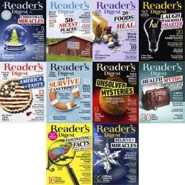 scientificmagazines Readers-Digest-USA-2019-Full-Year Reader's Digest USA – 2019 Full Year Collection Full Year Collection Magazines Hobbies & Leisure time Languages  Reader's Digest USA