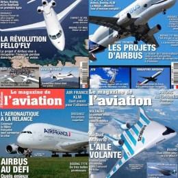 scientificmagazines Le-Magazine-de-lAviation Le Magazine de l'Aviation - année complète Aviation Frensh magazines Full Year Collection Magazines  Le Magazine de l'Aviation