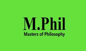 M.Phil