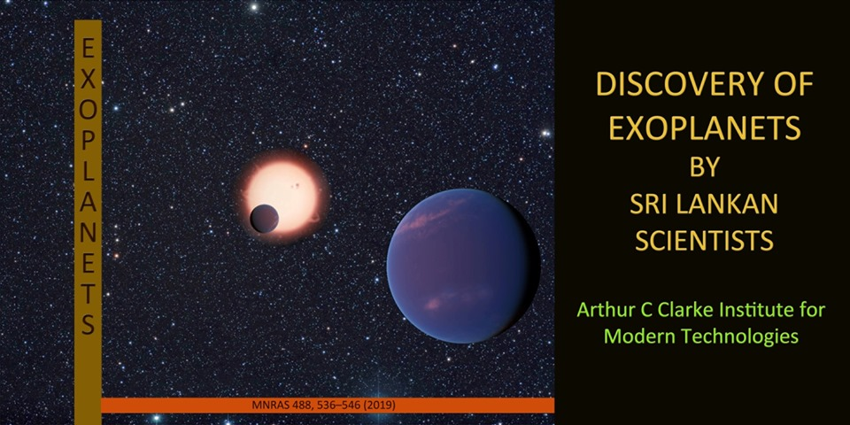 Sri Lanka Joins the Exoplanet Hunt with the Discovery of Two New Exoplanets