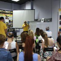 101 семинар Уральского тура Доброй воли- «Как противостоять опасному окружению»