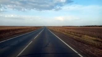 Трасса Челябинск- Оренбург. Уральский тур Доброй воли