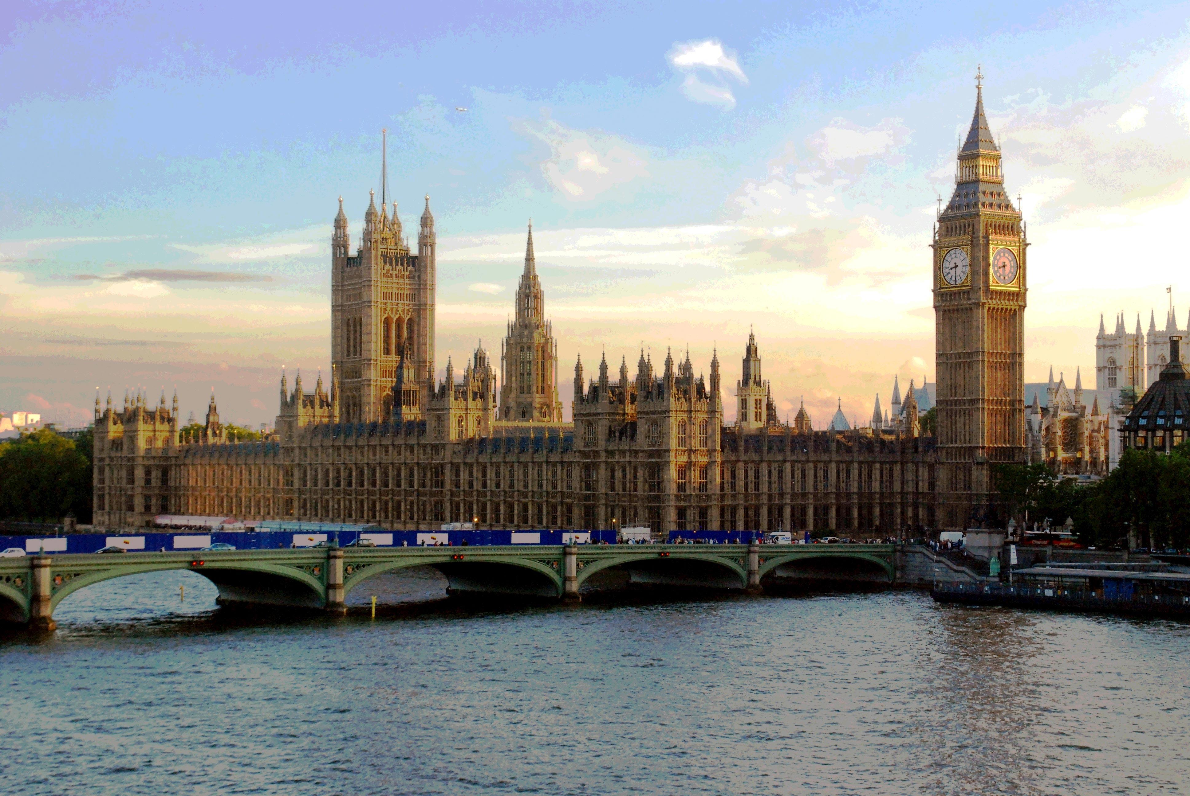 Parliament UK underground