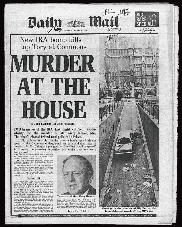 Airey Neave Murder